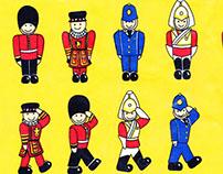 Past Work - Selfridges London Repeat Pattern