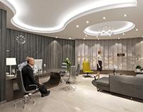 Re-interior design for Al-Shrooq Company