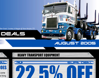 Heavy Transport - Sales Catalogue