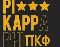Pi Kappa Phi @ Missouri State Recruitment Branding
