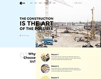 Constru - Construction WordPress Theme