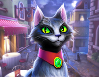 Black Cat - Character for Mobile Game