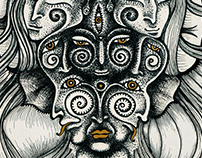 Faces of Goddess | Illustration