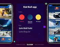 Red Bull app