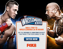 Fox8 Wrestlemania Competition
