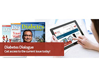 CDA Diabetes Dialogue magazine ads
