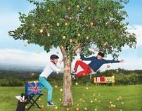 Mini Cooper ad campaign, shot by Tony Kelly