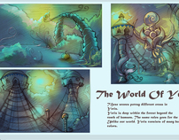 World of Yeris Environment and Story Concepts