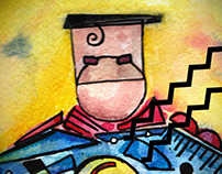 Kandinsky meets Superheroes