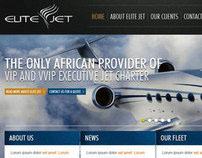 EliteJet Website re-design