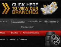 Minty's Tyres Website Design
