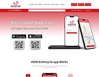 Eshtery Ex Ecommerce website 2