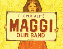 Maggi Olin Band - Record cover