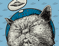 SPACE KITTY (For Jason Remington)
