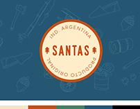 Branding - SANTAS