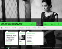 Dorota Miskiewicz - website