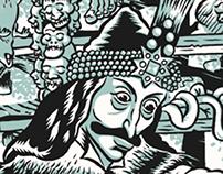 """Vlad """"el empanador"""" Serigrafía"""