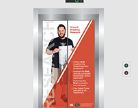 VA Health Care Elevator Wraps