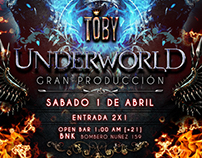FLYER UNDERWORLD