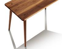 Nico - Coffee table in Black Walnut