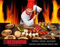 Benihana Restaurant  arch