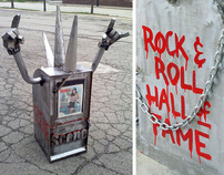 Rock and Roll Hall of Fame Induction Tribute Sculpture