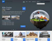 Travel theme - available in PSD