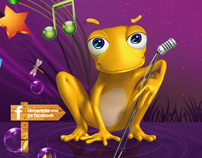 LandingPage: Cosmote Frog