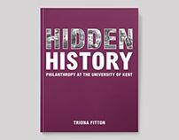 Hidden History – Book Design