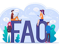 FAQ Vector Illustration