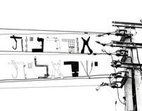 israeli urban  typography