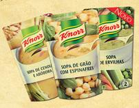 Sopas Frescas Knorr - 100% Naturais