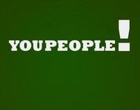 Tropic Thunder : You People Kinetic Typography