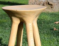 312 Layered stool