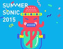 SUMMER SONIC for XIAMI 大阪音乐节 虾米音乐