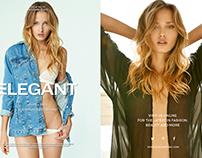 Zhanna for ELEGANT Magazine