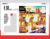 Ilustração para revista SUPERINTERESSANTE