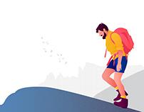 trip illustration