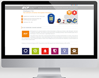 EKF Diagnostics Germany Website