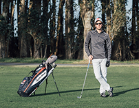 Gustavo Romero, amateur golfer.