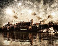 Kraków - Wawel - Photo Manipulation