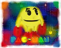 Pac man 3D Model In Maya