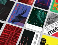 Gig Posters: Ursa Series