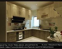 New modern kitchen design, Cairo, Egypt 🇪