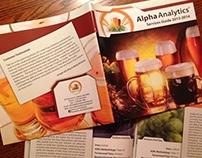 Alpha Analytics catalog design 2013