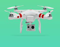 Quadcopter - landing page