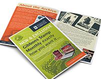 Stanley Gibbons Archive, Leaflet/Poster Design