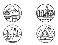 4 City Icons