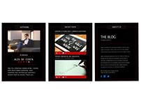 A blogging portfolio