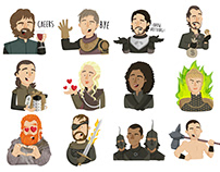 Game of Thrones sticker pack
